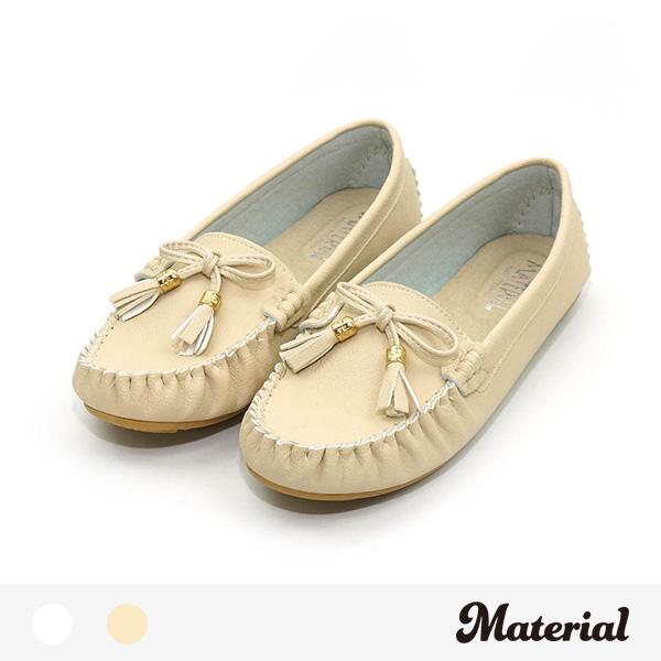 包鞋 蝴蝶結綴飾豆豆鞋 MA女鞋 T9117