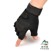 運動半指手套男軍戶外用戰術手套健身防滑騎行手套露指【步行者戶外生活館】