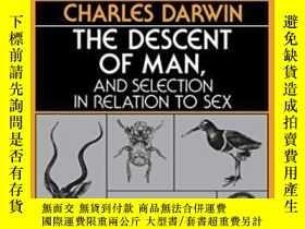 二手書博民逛書店The罕見Descent Of Man And Selection In Relation To SexY25