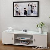 電視櫃簡約現代臥室迷你組合茶幾地櫃歐式小戶型簡易客廳電視機櫃igo 美芭
