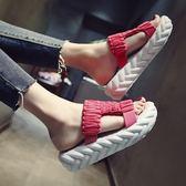 松糕厚底拖鞋涼鞋 米蘭shoe