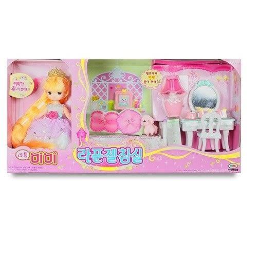 《MIMI WORLD》迷你MIMI長髮公主臥室組←小朵莉 辦家家酒 洋娃娃 小美樂娃娃 巴比娃娃 小朵莉