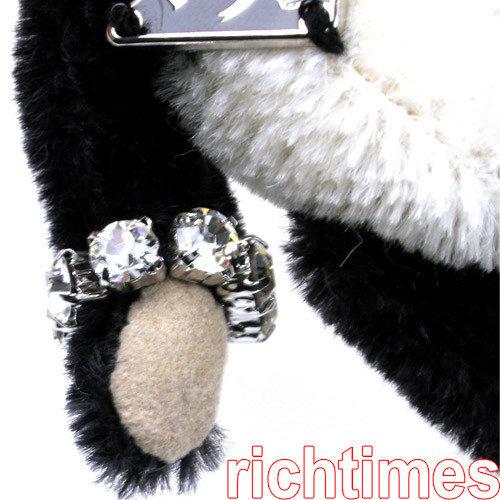 PRADA釀鑽小熊鑰匙圈PD493001