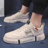 運動鞋百搭休閒男鞋透氣板鞋平底鞋【愛物及屋】