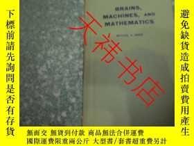二手書博民逛書店Brains,Machines,and罕見Mathematics