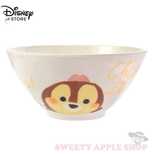 日本 DISNEY STORE限定  迪士尼 TSUM TSUM 奇奇 蒂蒂 克莉絲 餐碗