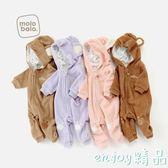 【618好康又一發】嬰兒連體衣秋冬裝棉衣外出服
