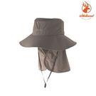 WildLand 中性抗UV可脫式功能遮陽帽 W1037【62黃卡其】(抗UV、遮陽帽、圓盤帽)