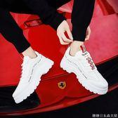男鞋冬季白色運動休閒鞋男生鞋子男 新款帆布鞋男潮鞋小白鞋男
