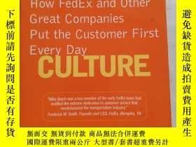 二手書博民逛書店Customer罕見Culture: How FedEx and