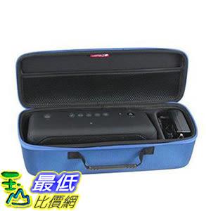 Hermitshell硬殼EVA旅行紅色外殼適合索尼XB40便攜式無線揚聲器藍牙 適充電器 藍 [8美國代購]