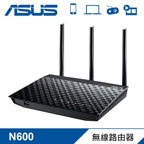 【ASUS 華碩】RT-N18U 2.4GHz N600 高效能無線路由器