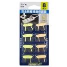 《鉦泰生活館》安全防塵插座保護蓋(8入) AD-8