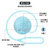 【Oweida】馬卡龍藍芽喇叭(內建麥克風/免持通話/可自拍)附吊繩