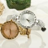 石英錶-時尚鋼帶質感手鍊造型女手錶5色71r30[時尚巴黎]