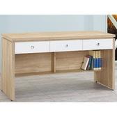 書桌 電腦桌 CV-624-6 安寶耐磨橡木5尺白色抽辦公桌下座 (不含其它產品) 【大眾家居舘】