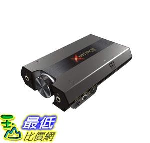 [7美國直購] Sound BlasterX G6 Hi-Res 130dB 32bit/384kHz Gaming DAC, External USB Sound Card