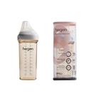 新加坡品牌hegen 金色奇蹟PPSU多功能方圓型寬口奶瓶 330ml 88739