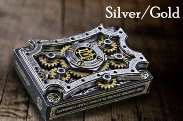 【USPCC撲克】Dale Mathis silver/gold deck