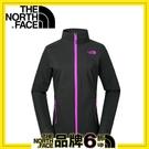 【The North Face 女 防風外套《黑》】2XVZ/立領外套/風衣