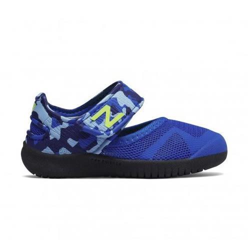 New Balance 童鞋 小童 休閒 涼鞋 防水 耐磨外底 輕量 藍【運動世界】KA208BUI