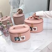 化妝包大容量ins網紅小清新化妝品收納包便攜化妝箱手提可愛少女