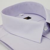 【金‧安德森】紫底細紋吸排長袖襯衫