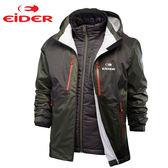 Eider 男 防風│防水│超輕透氣│primaloft eco│兩件式雪衣 EIT1311『橄欖綠』