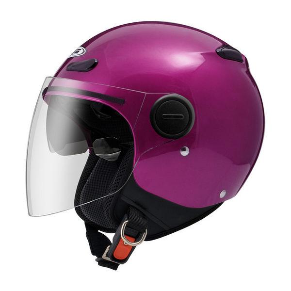 ZEUS 瑞獅安全帽,ZS-210BC,素/珍珠糖果桃紅