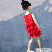 女童連衣裙夏裝兒童的公主裙2019新款韓版雪紡寶寶裙子小女孩童裝
