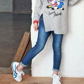 韓國兒童牛仔褲春夏新款男女童時尚彈力牛仔褲兒童百搭小腳褲鉛筆   伊鞋本鋪