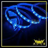 ◤大洋國際電子◢ 5050 300燈白底扁條燈 防水型 5M(共陽)24V-藍光 裝飾 氣氛燈 牌照燈 車底燈 1328-B-5