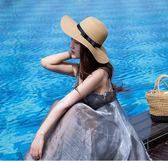 遮陽帽 女夏季小清新韓版海邊度假沙灘太陽休閒百搭甜美可愛 HH499【潘小丫女鞋】