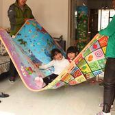 環保寶寶嬰兒童爬行墊加厚泡沫地墊防潮爬爬墊客廳家用超大號坐墊QM    晴光小語
