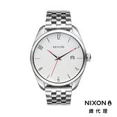 【官方旗艦店】NIXON BULLET 輕奢質感 時尚穿搭 銀白 潮人裝備 潮人態度 禮物首選