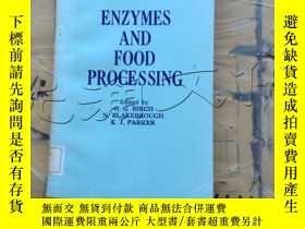 二手書博民逛書店Enzymes罕見and Food ProcessingY252