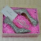 成人禮高跟鞋女 18歲生日禮物細跟尖頭少女公主水晶鞋學生成年百搭