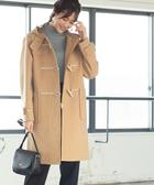 牛角釦大衣 義大利環保回收羊毛  日本品牌【coen】