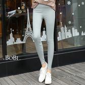 長褲 糖果色超彈性鉛筆褲貼身小腳長褲【X01】 BOBI  05/05