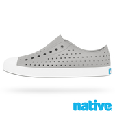 native JEFFERSON 奶油頭休閒鞋-鴿子灰x貝殼白(男/女)