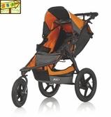 [家事達] Britax BOB-BX01312 頂級 三輪進化慢跑車-桔色 嬰兒推車 特價