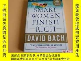 二手書博民逛書店英文原版Smart罕見Women Finish Rich(聰明的女人能完成富有)。Y178606 DavidB
