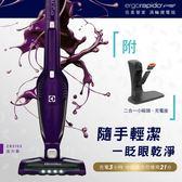 限時限量下殺【伊萊克斯Electrolux】完美管家吸塵器 無線 ZB3102(活力紫) 附三吸頭/6期零利率