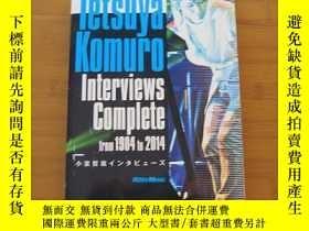 二手書博民逛書店小室哲哉罕見Tetsuya Komuro Interviews Complete from 1984 to 201