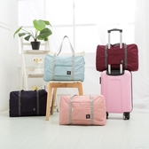 旅行袋手提女便攜折疊收納包大容量行李袋健身包男可套拉桿行李箱 奇思妙想屋