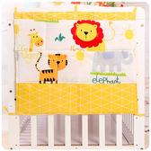 嬰兒床上用品床頭掛袋收納袋儲物袋尿布袋床邊掛袋全棉掛袋【快速出貨】