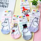 正版嚕嚕米條紋造型短襪 襪子 造型襪 流行襪 直版襪 MOOMIN