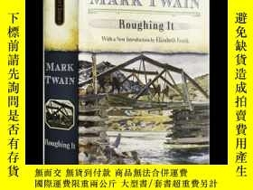 二手書博民逛書店苦行記罕見英文原版 Roughing It Mark Twain Signet Classics 散文 艱苦歲月