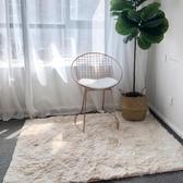茶几地墊 家用毛毛地墊房間裝飾風臥室客廳北歐茶幾租房改造床前小地毯