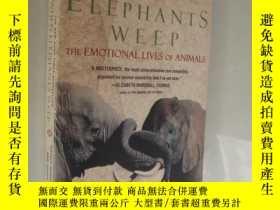 二手書博民逛書店When罕見elephants weep:the emotion